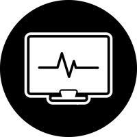 EKG-ikondesign