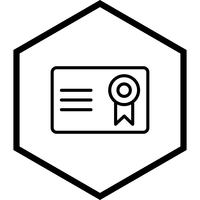 Certifikat Icon Design