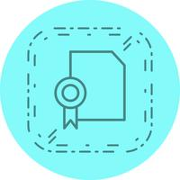Design de ícone de diploma