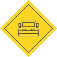 Snowplow Icon Design