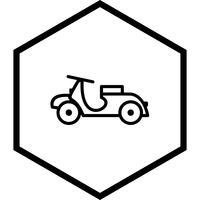 diseño de icono de vespa
