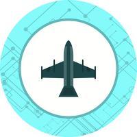 Fighter Jet Icon Design