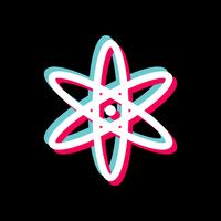 conception d'icône d'atome