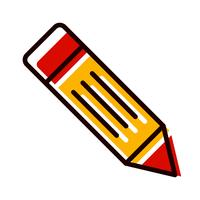 Crayon Icon Design