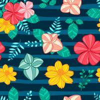 fiore modello senza soluzione di continuità, motivo floreale