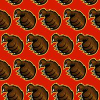 Grizzly klauw vector illustratie