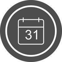 Diseño de icono de calendario