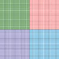 twill pastel  plaid patterns