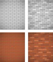 wall of white and red brick seamless background