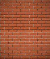 wall of red brick seamless background