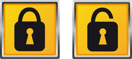 icons lock for design vector illustration