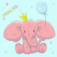 Lindo bebe elefante