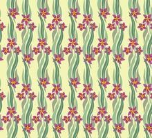 Patrón floral sin fisuras Fondo de la flor. textura de jardín