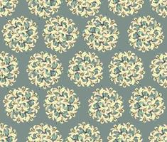 Floral seamless pattern. Flower background. Bloom garden texture