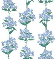 Abstract bloemen naadloos patroon. Bloem lente achtergrond.