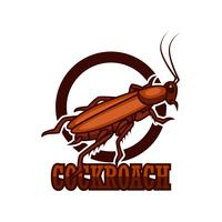 cockroach logo isolated on white background
