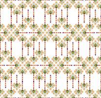 Textura inconsútil floral abstracta. Patrón de flor oriental elegante
