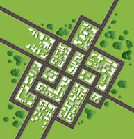 Plan stad