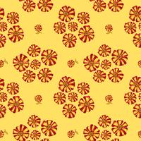 Abstract floral seamless pattern. Summer Flower background.