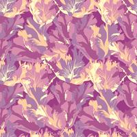 Abstract flower petal seamless pattern. Textured background