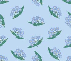 Modèle sans couture floral abstrait. Fond de printemps fleur.