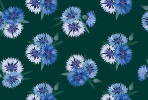 Abstract floral seamless pattern. Summer Flower background