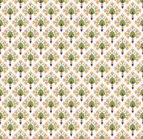 Abstract floral seamless texture. Stylish oriental flower pattern