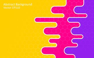 Colorful abstract vector background, template design