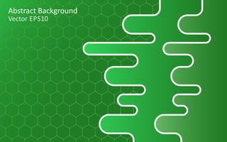 Fundo de vetor abstrato verde esmeralda
