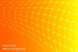 Fundo abstrato laranja e amarelo vector