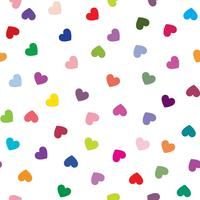 Love heart background. Romantic holiday seamless pattern