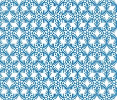Snowflake tile pattern Winter holiday ornament Geometric texture