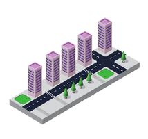 Isometric view vector