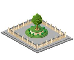 Giardino vettoriale