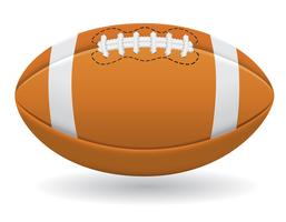 ball for american football vector illustration