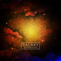 Abstract galaxy space background