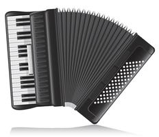 accordeon vectorillustratie