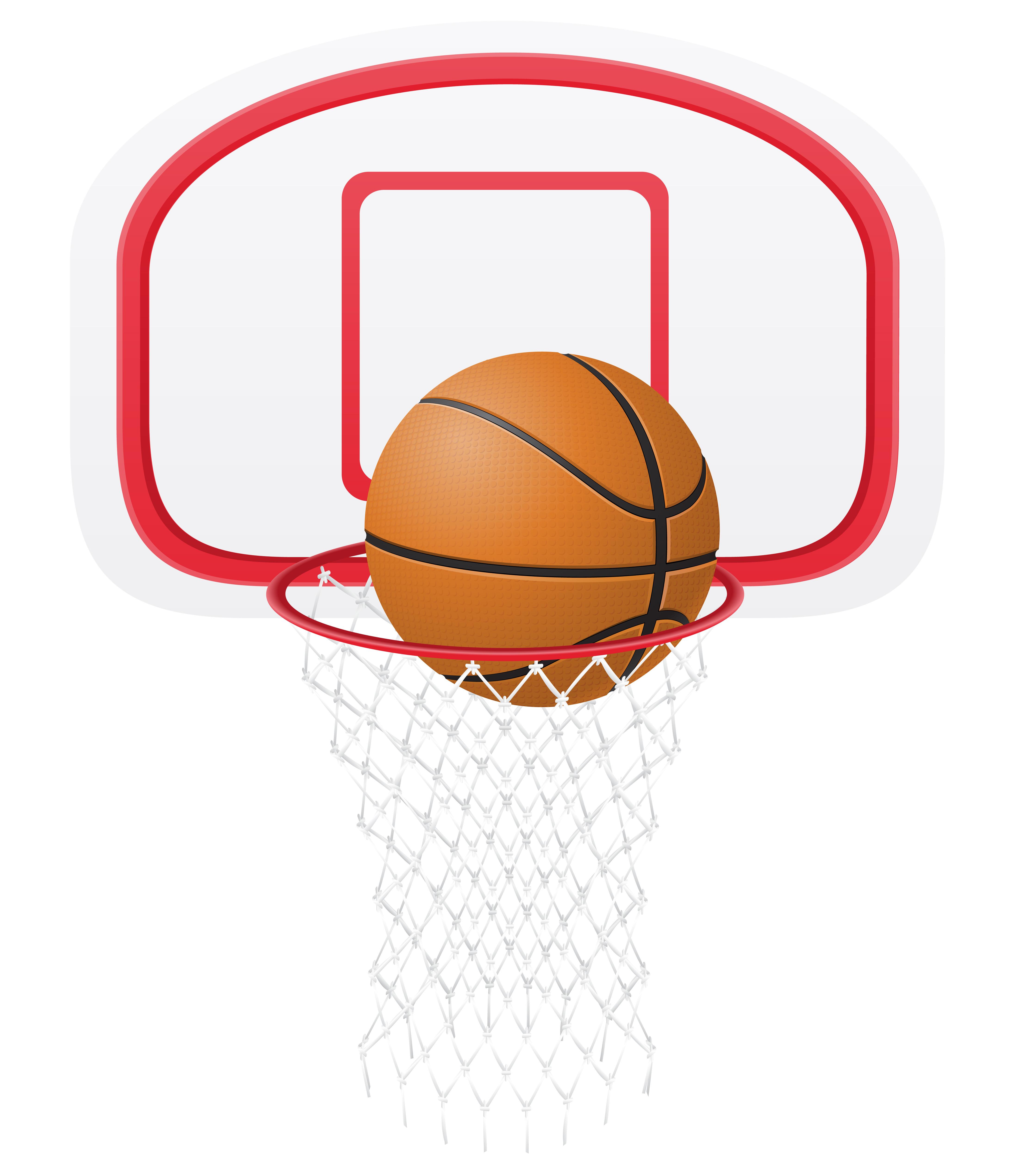 Panier Basket Balle Illustration Vectorielle Telecharger