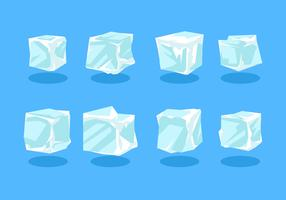 Ice Cube Clipart Vecteur