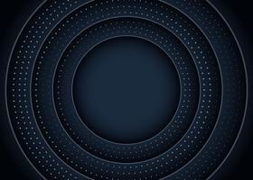 Circle Black Background vector