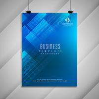 Abstract Business brochure stylish template design vector