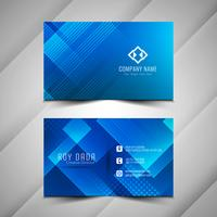 Abstract elegant Business card colorful design