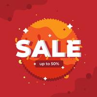 Sale Typography Vector