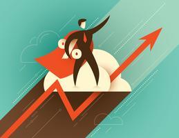 Corporate goals illustration