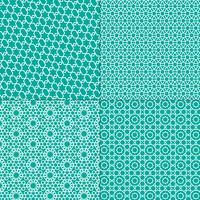white and turquoise blue Moroccan patterns