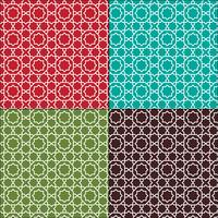 ornate Moroccan seamless tile patterns