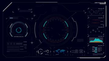 Interface graphique HUD 002