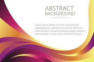 colorful abstract  violet and orange wave background banner and wallpaper