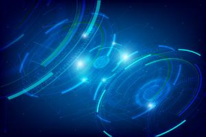 Abstract HUD technology background 003