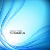 Fondo de vector de luz abstracta azul